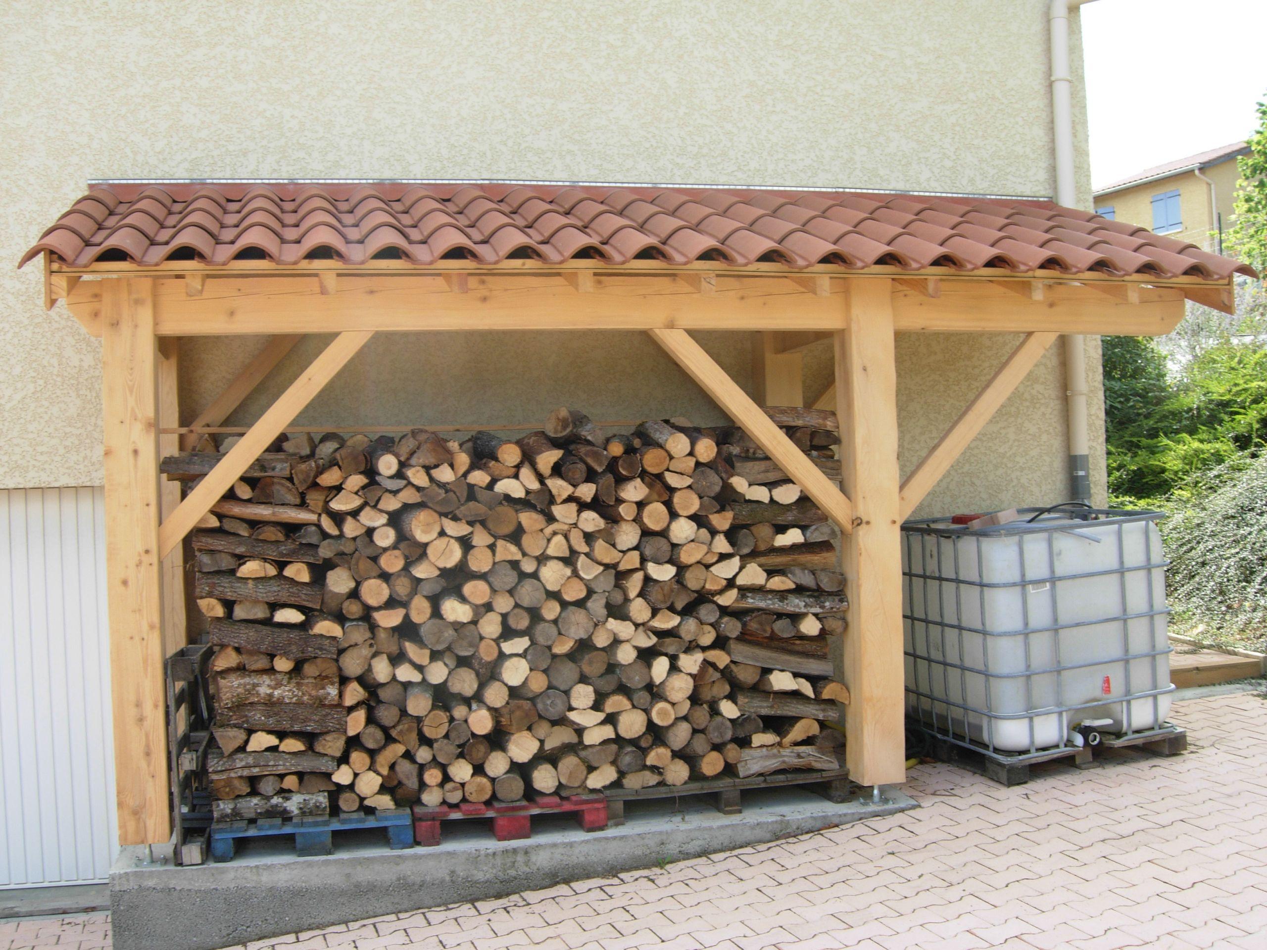 Abri à bois Cabanes abri jardin