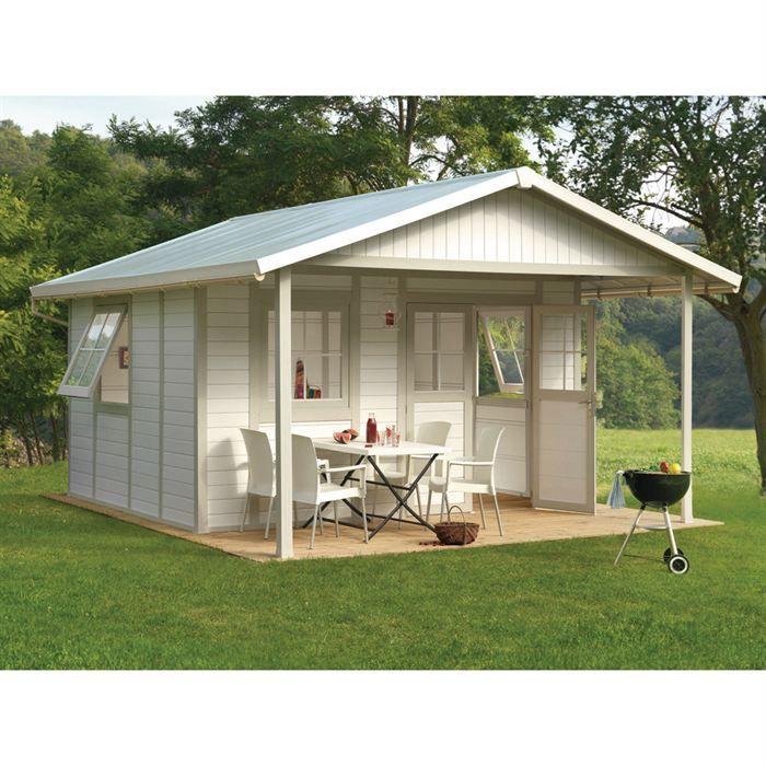 Abri jardin bois Deco 20A 19 6 m² Kit d ancrage Achat