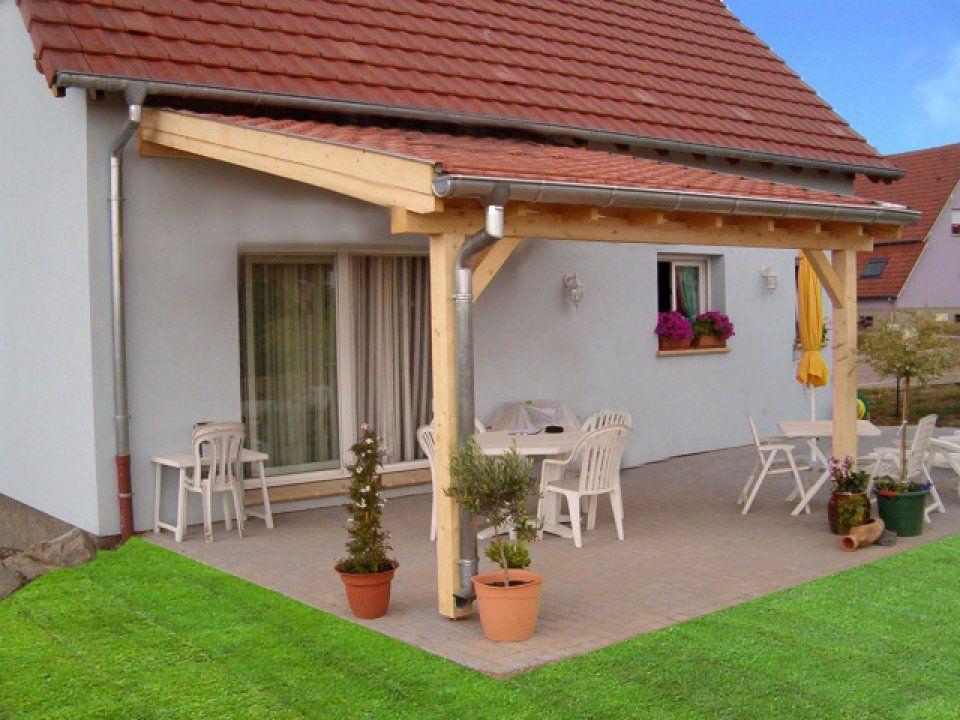 terrasse couverte bois en kit 7