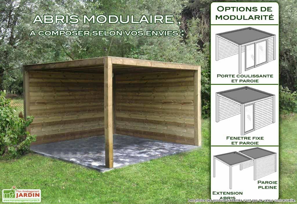 Abri Bois Exterieur Concept