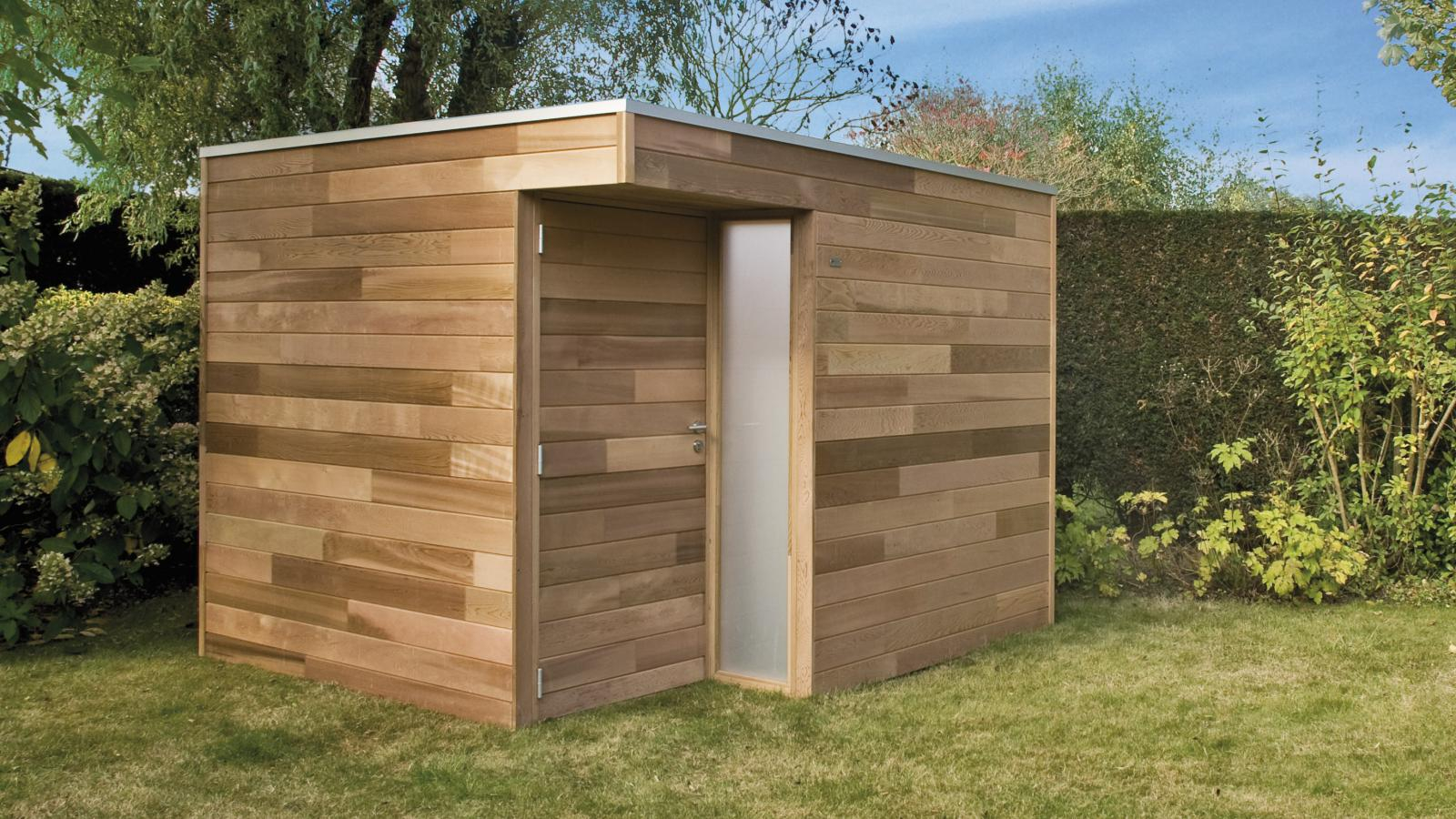 Abri exterieur bois Cabanes abri jardin