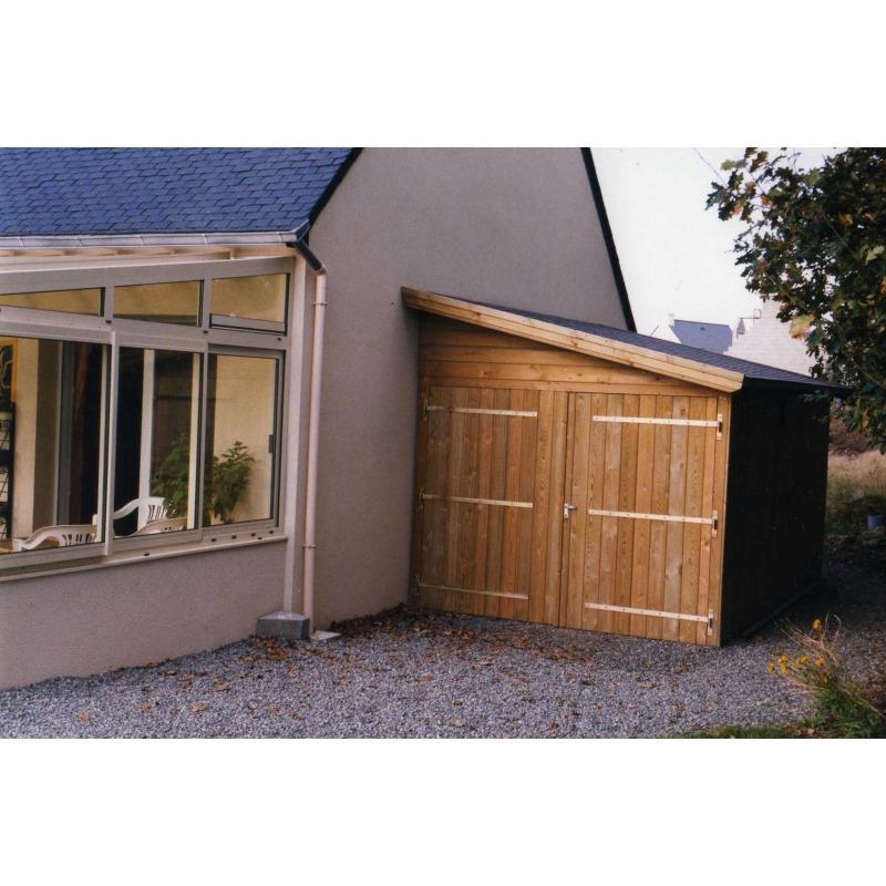 Abri de jardin toit 1 pente