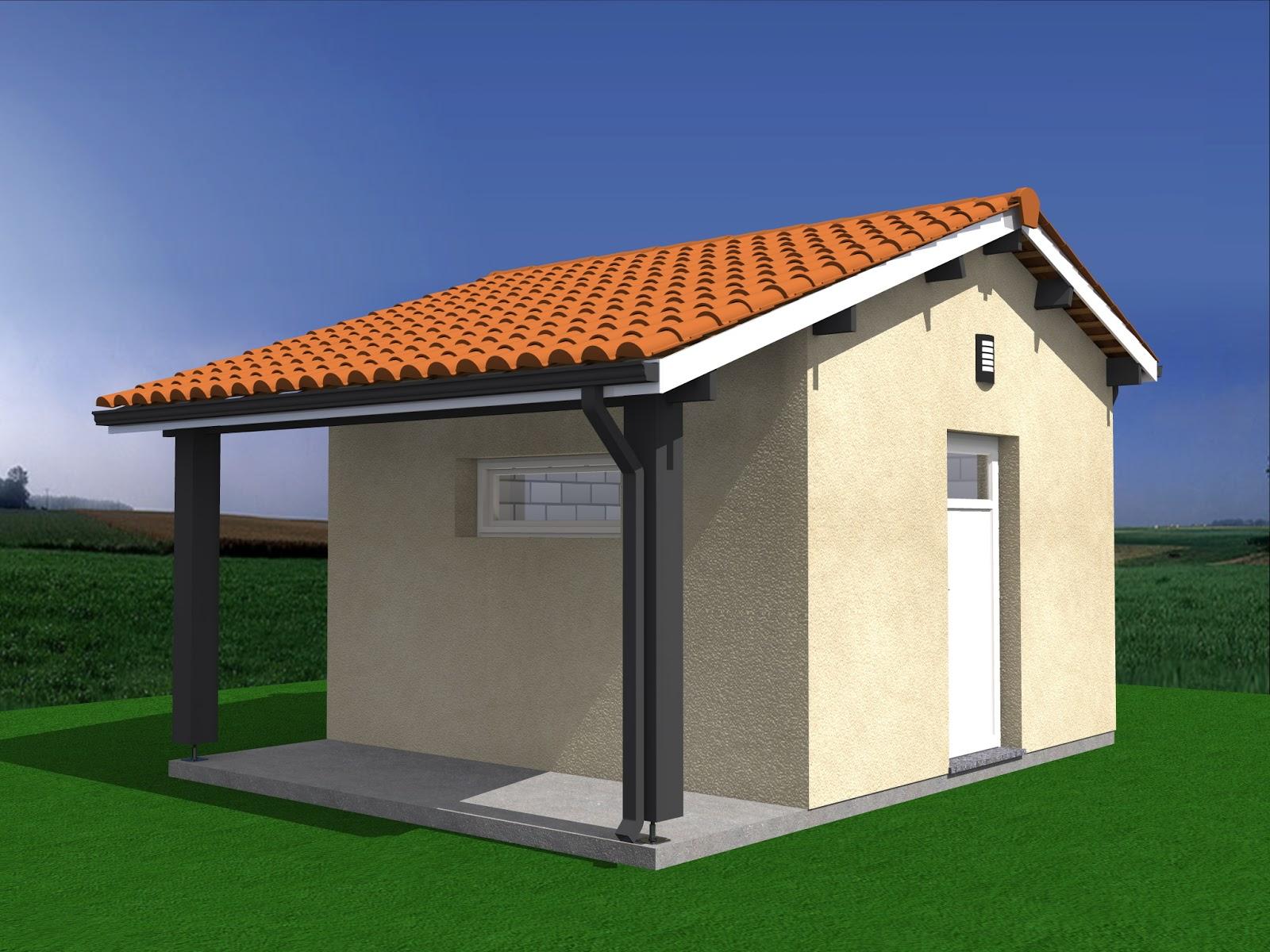 Abri De Jardin 20m2 Projet De Construction Abri De Jardin Auvent 20m2
