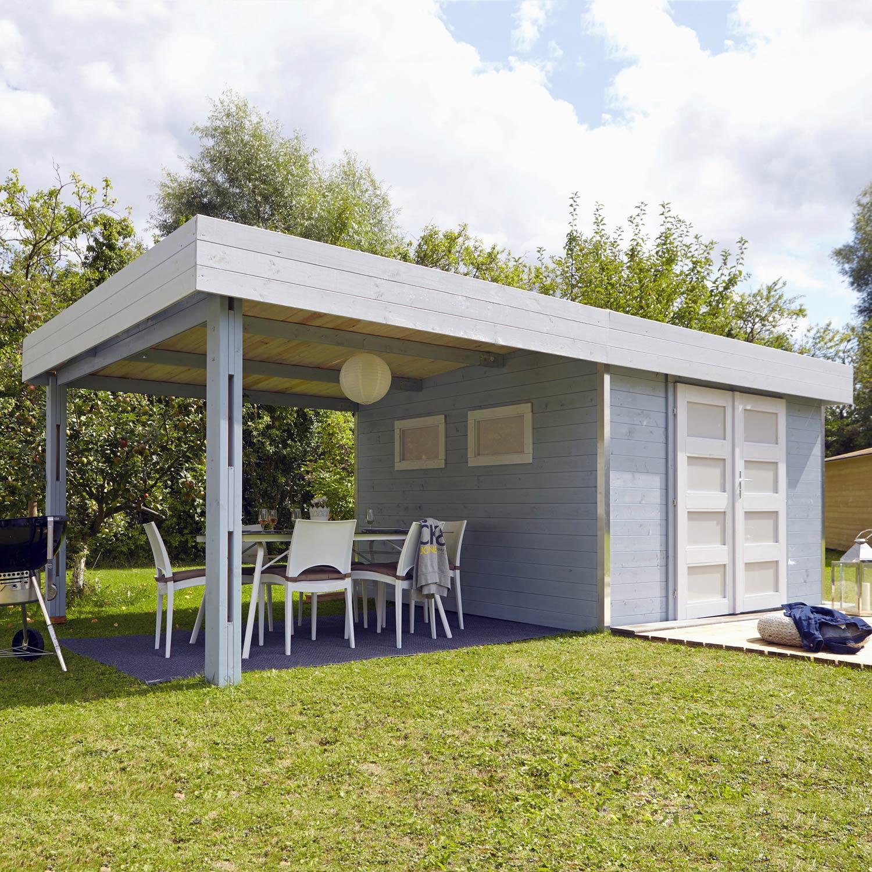 Abri de jardin bois Trendi 8 53 m² Ep 28 mm