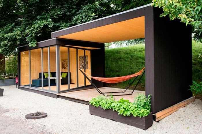 Chalet jardin moderne Les cabanes de jardin abri de