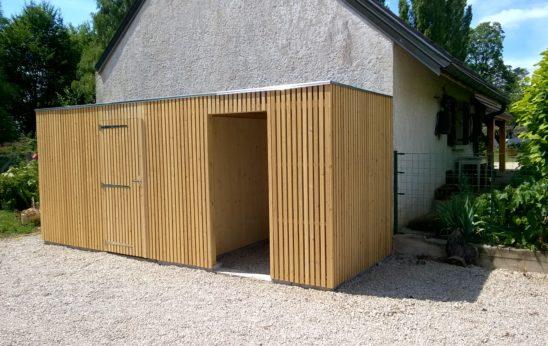 Entreprise de création et montage d'abris de jardin dans