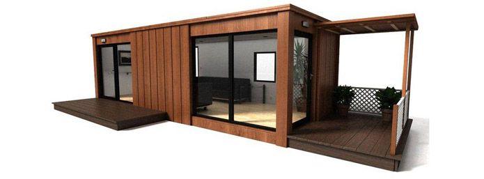Pool house moderne contemporain
