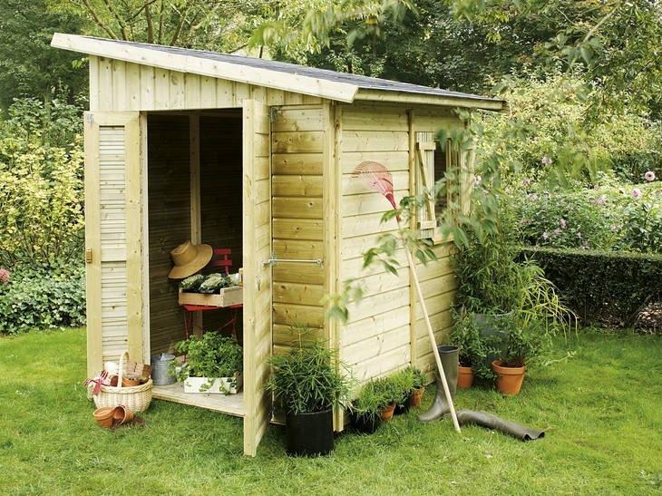Abri De Jardin En Bois 5m2 Abri De Jardin De Moins De 5m2 Cabanes Abri Jardin Idees Conception Jardin Idees Conception Jardin