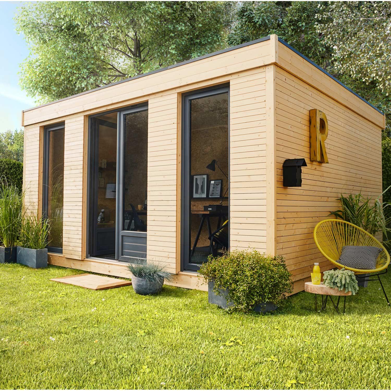 Abri de jardin bois Decor home Ep 19 mm 15 24 m²