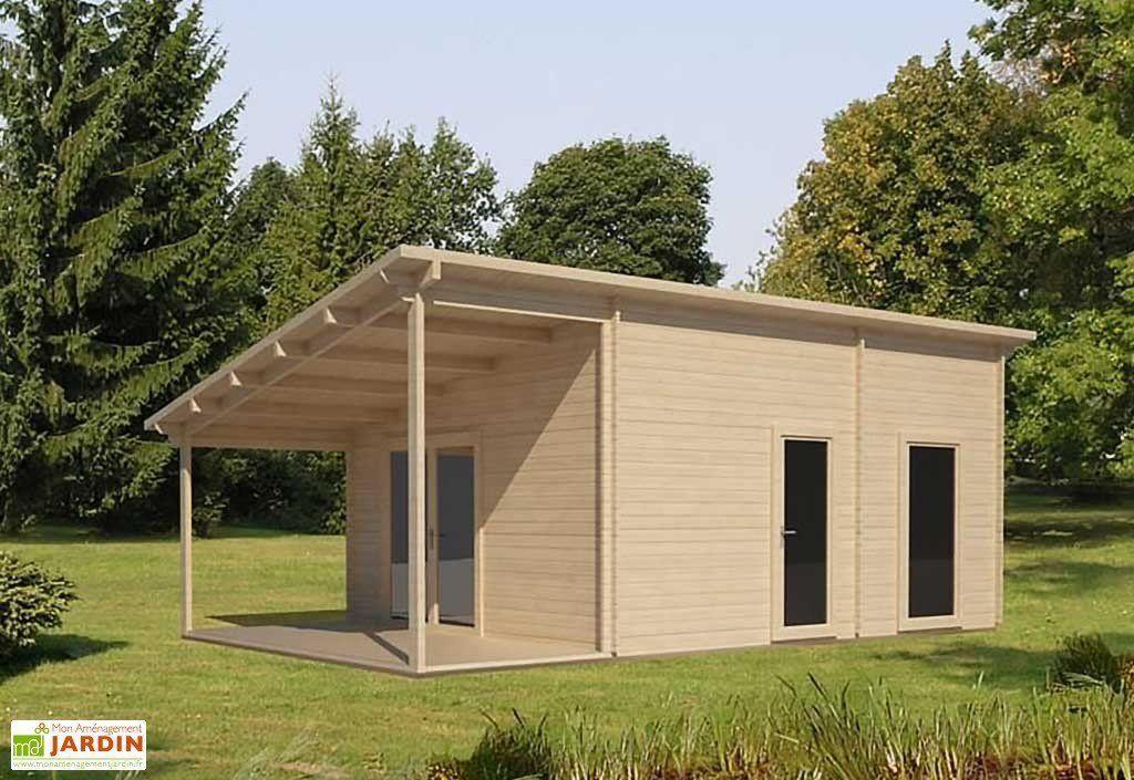 Abri de Jardin en Bois Valencia 44 mm 8x5m Timber Cabins