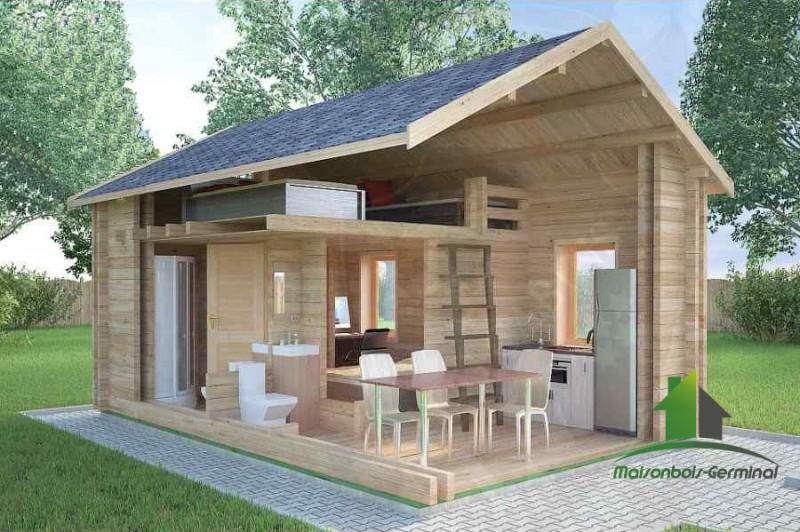 abri de jardin habitable