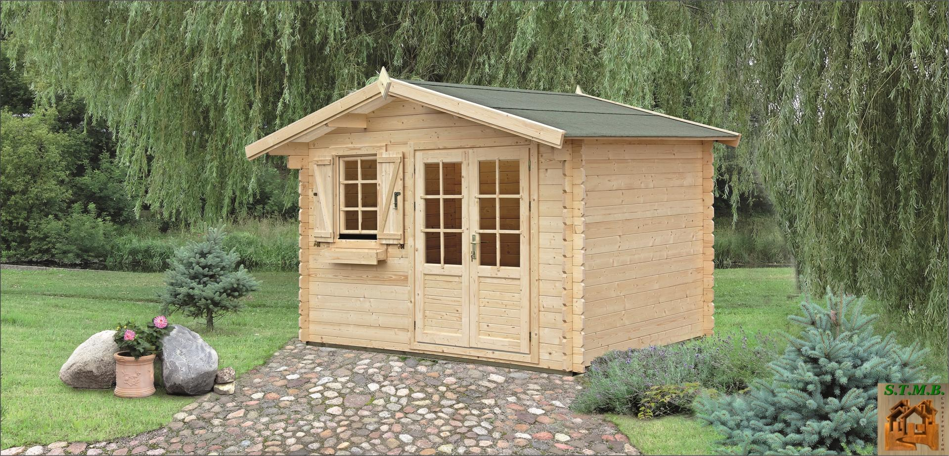 Kit cabane en bois jardin