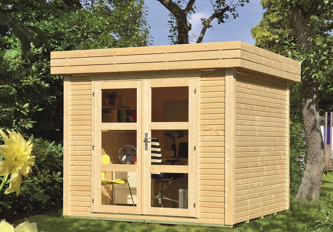 Abri de jardin 5 48 m2 toit plat