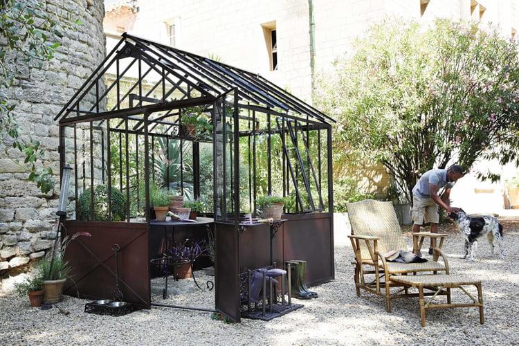 Abri de jardin serre Tuileries par Maisons du Monde