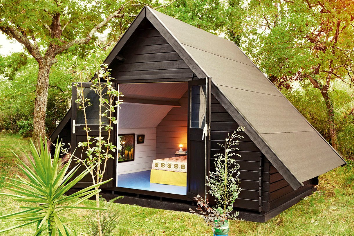 Construire un abri de jardin en guise de chambre d amis