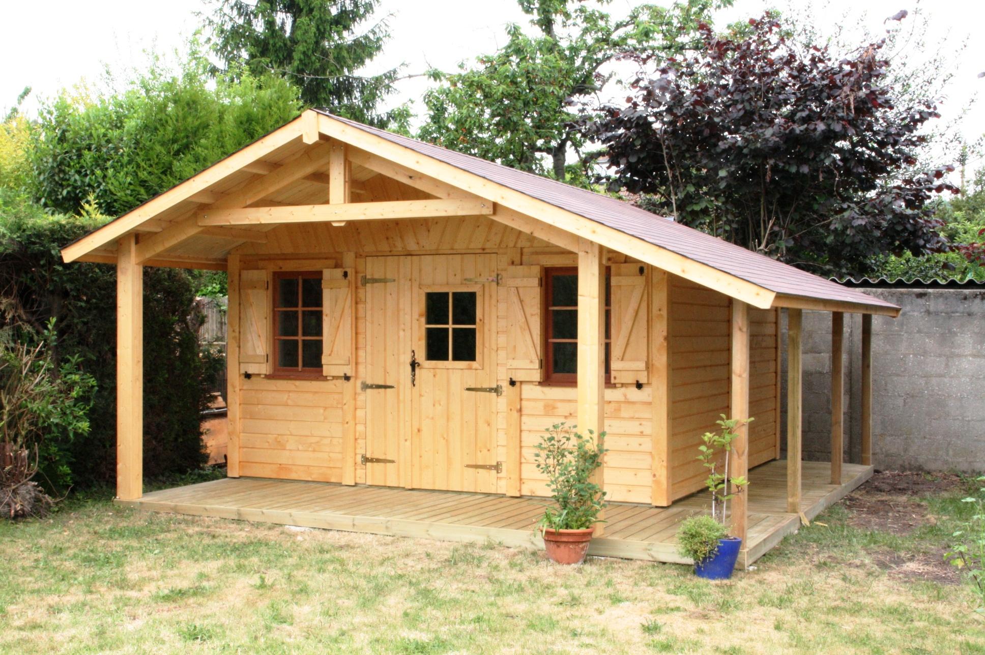 Petite maison de jardin en bois Cabanes and co