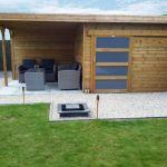 Abri De Jardin Moderne Abri De Jardin toit Plat Avec Porte Coulissante Et