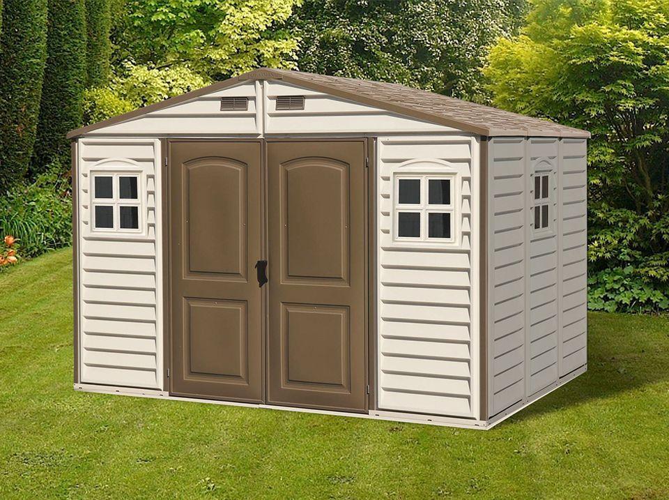 Abri de jardin resine Woodstyle PREMIUM 7 6 m2 Direct Abris