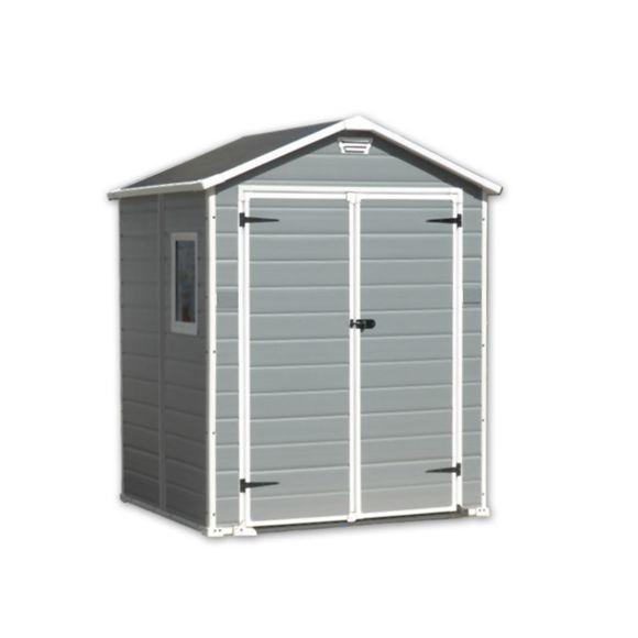 KETER Abri de jardin PVC Premium 65 2 8 m² pas cher