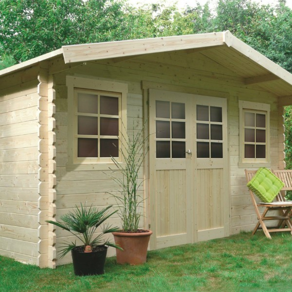 Abri de jardin bois autoclave SOLID Dole materiauxnet