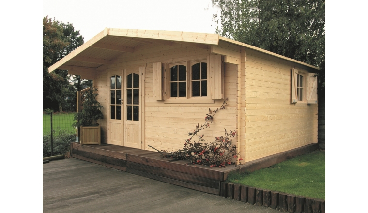 Abri de jardin en bois 40 mm 17 79 m² Solid S8981