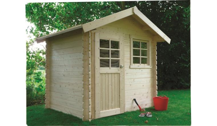 Abri de jardin en bois traité ou non 28 mm 3 74 m² Solid