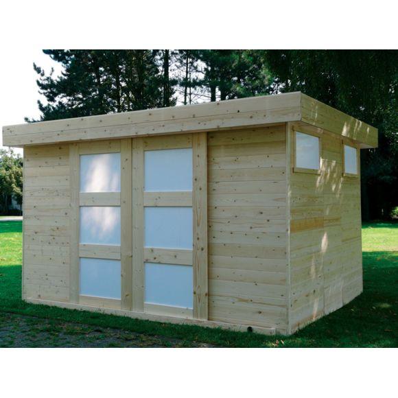 SOLID Abri jardin Sjobo 10 49 m² 3 62 x 2 89 x 2 07