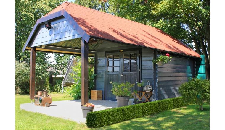 Solid S8507 Abri de jardin CORK 7 53 m²