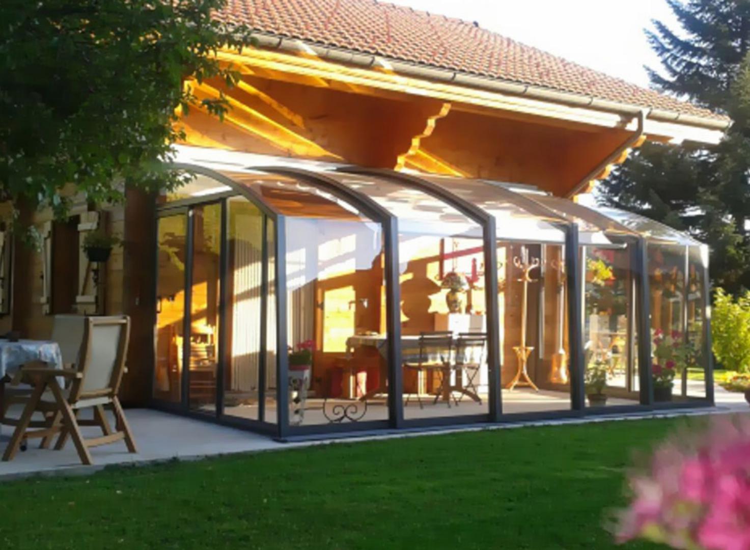 Abri De Terrasse Abri De Terrasse Coulissant Et Veranda Retractable