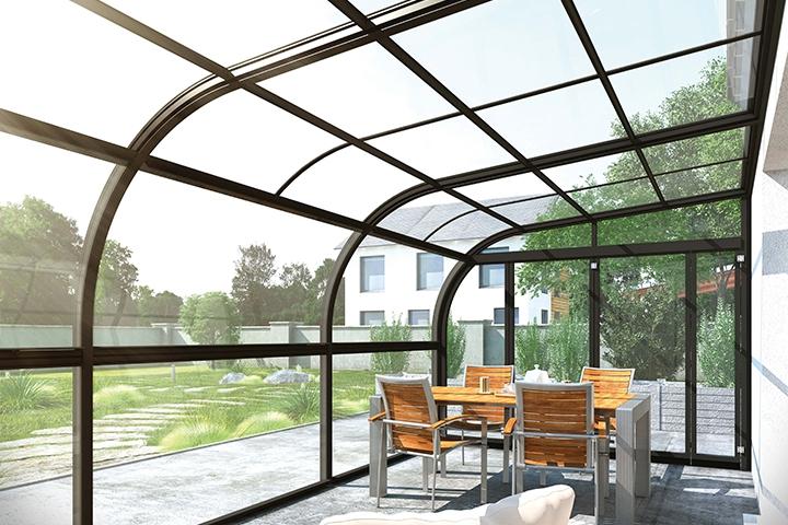 Abri De Terrasse Fermé Prix Abri De Terrasse à Panneaux Relevables Panoramik