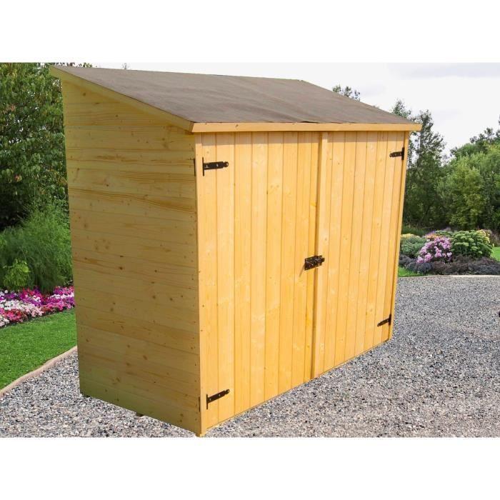 Abri de jardin en bois 5 m2 Achat Vente Abri de jardin