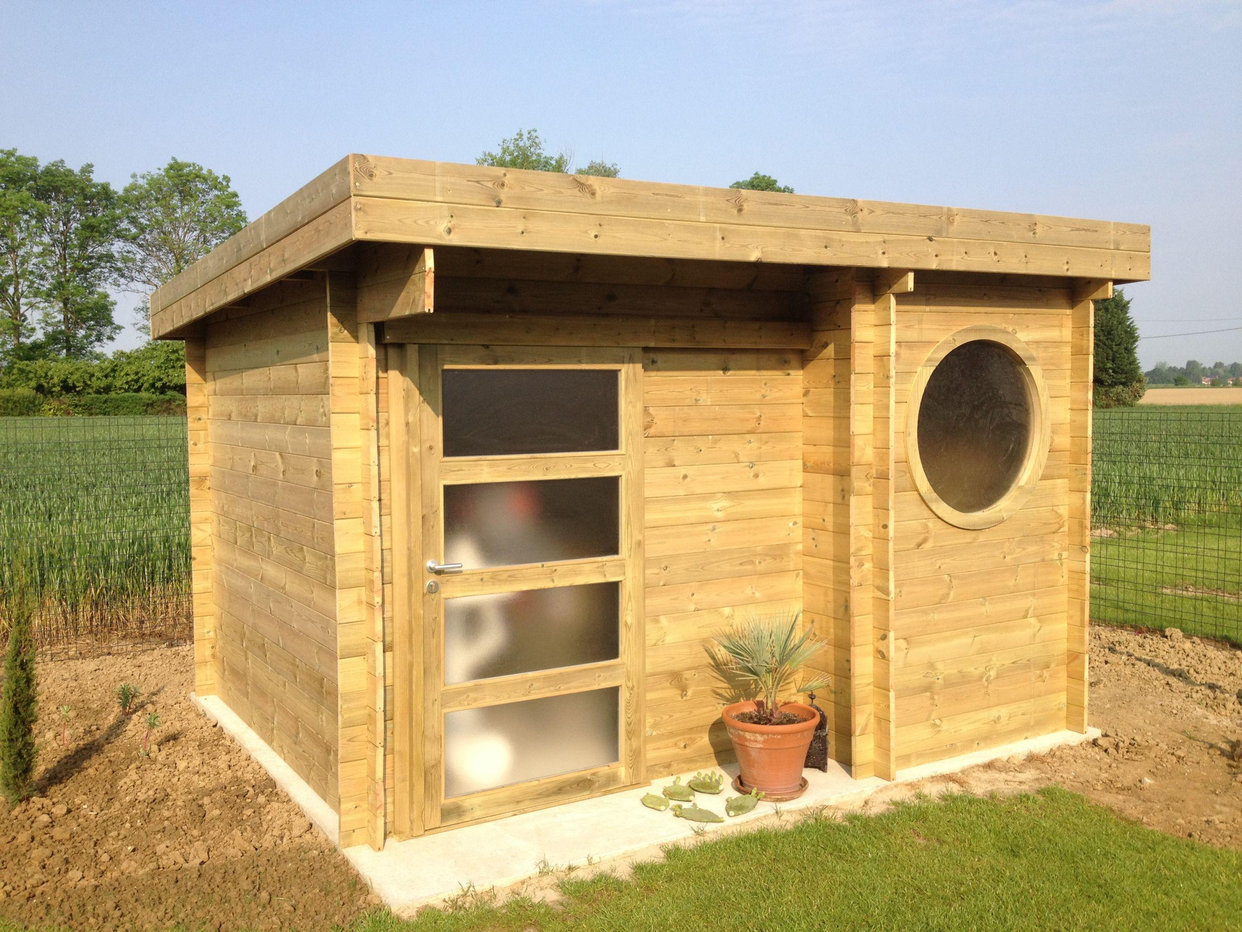 Abris jardin toit plat pas cher – Vente abri en bois de jardin