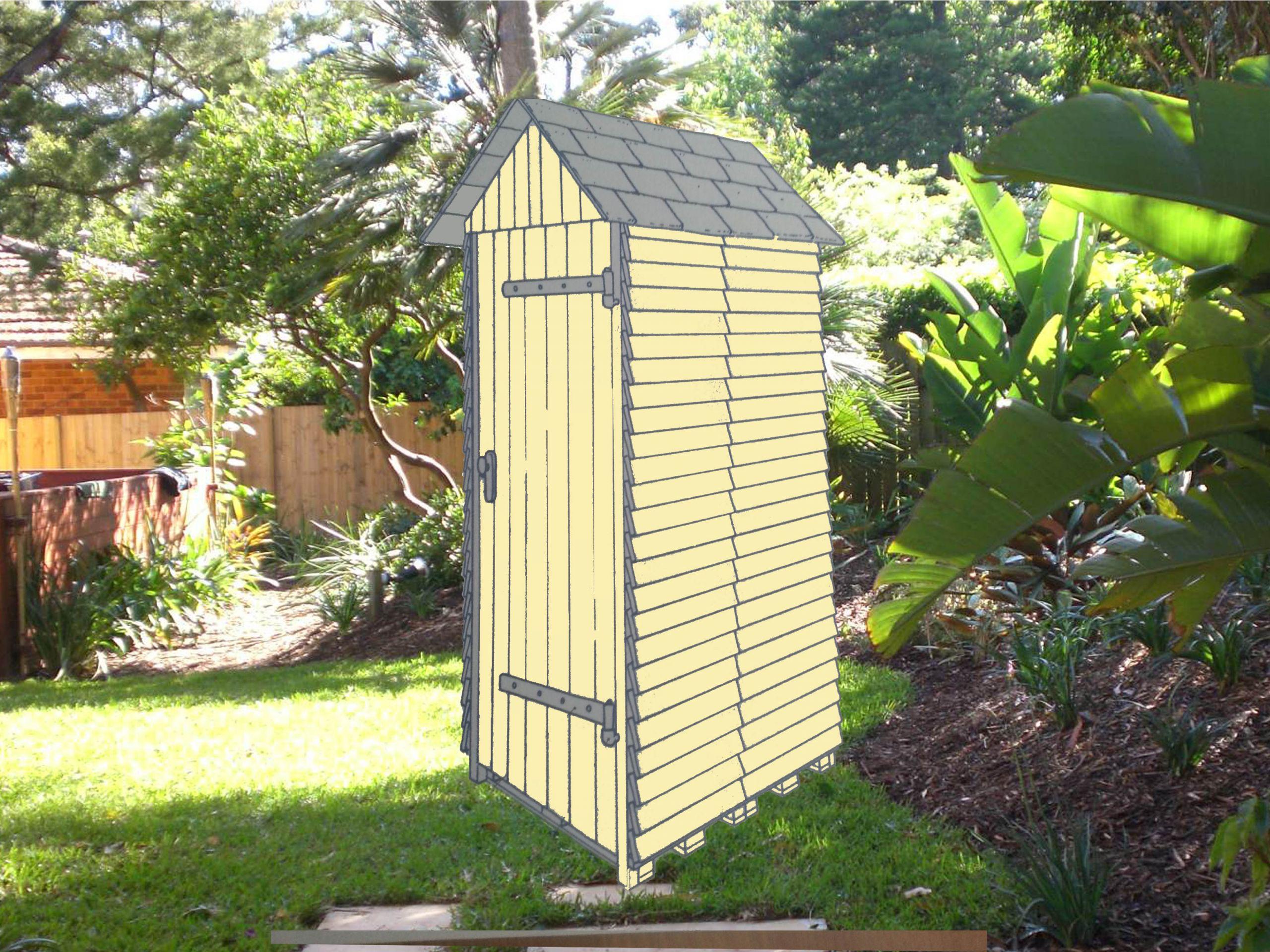 Construire un abri de jardin en bois pas cher