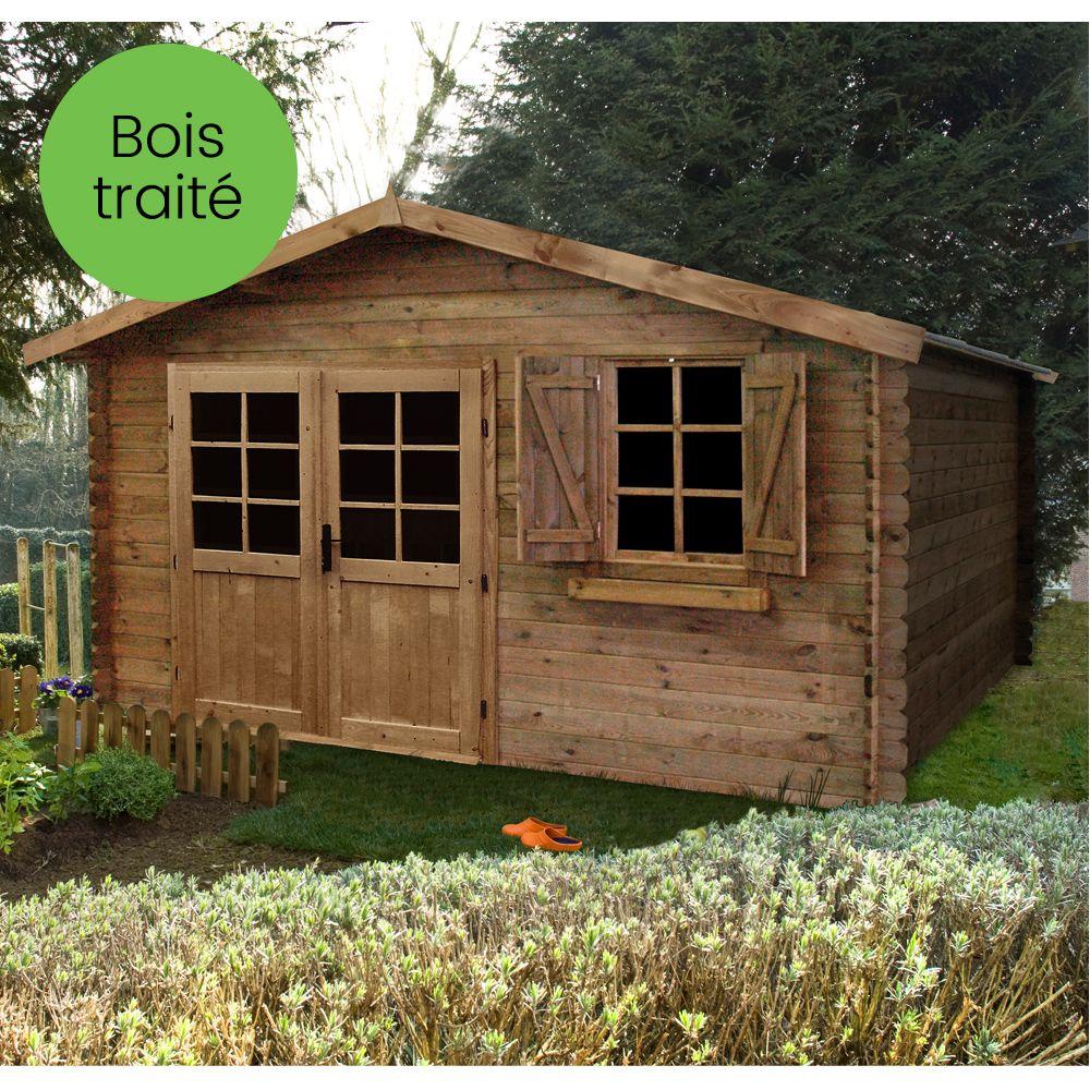 Abri De Jardin En Pin Douglas abri jardin autoclave abri de jardin bois traité autoclave