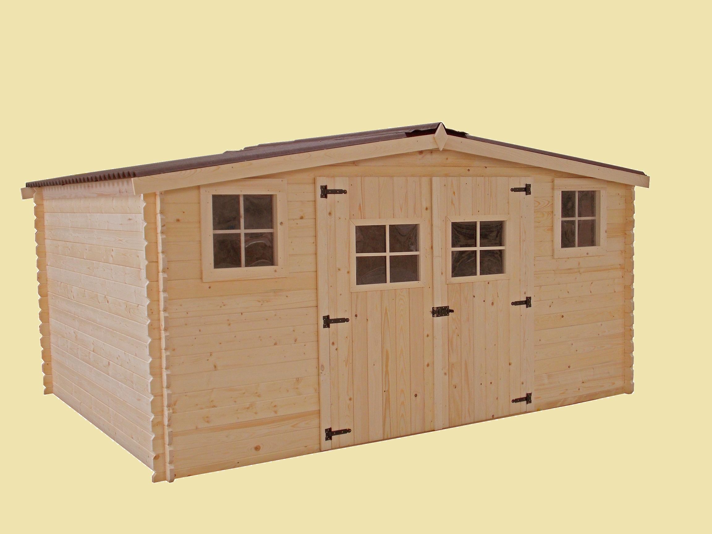 Abri de jardin en bois 10m2 pas cher Cabanes abri jardin