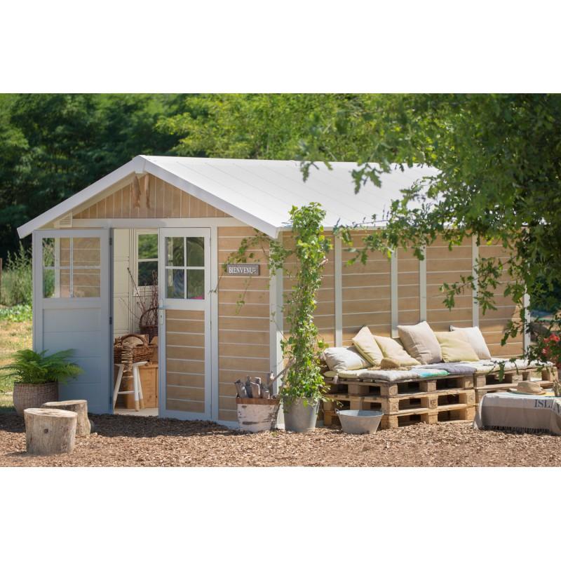 Abri Jardin Grosfillex Abri De Jardin Pvc Deco 11 2m² Sherwood Grosfillex Kit
