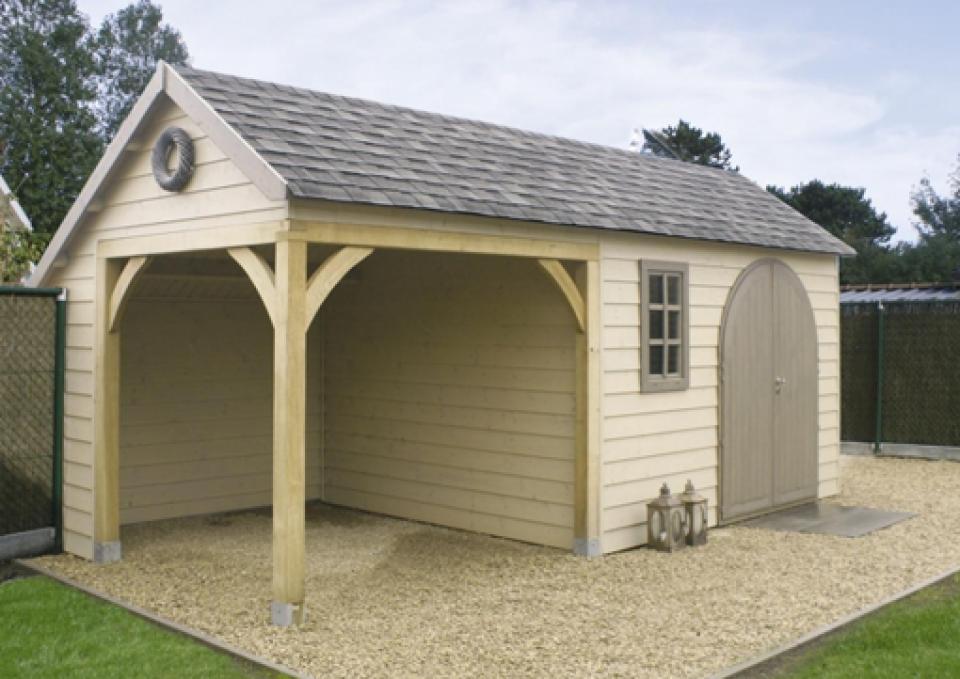 abri de jardin en bois ou cottage chez mega abris