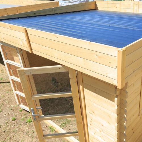 Chalet & Jardin Boutique Abri bois Soleil toit plat