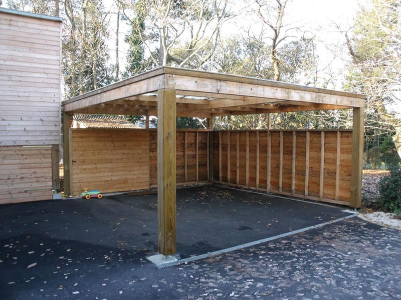 Garages et carports en bois tous les fournisseurs
