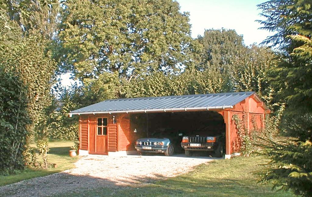 Abri Jardin Ouvert Garages
