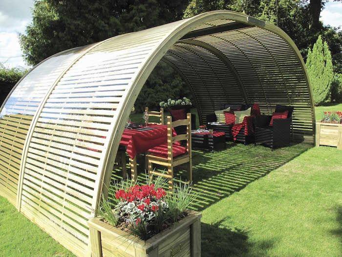 Le top des ABRIS de Jardin – 45 idées design