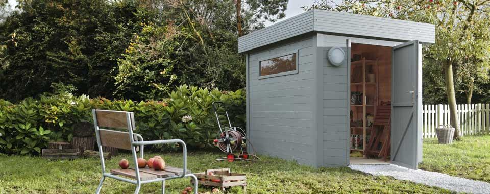 Cabane de jardin 6m2 l Habis