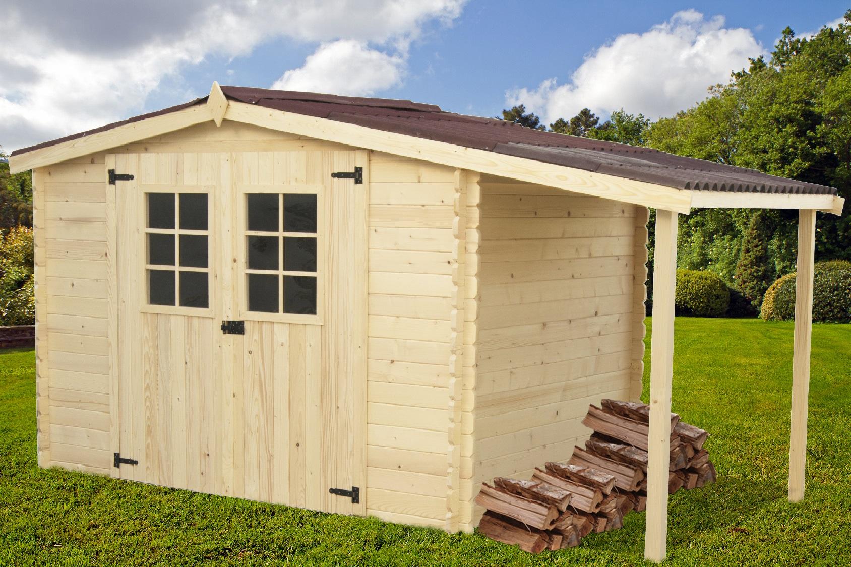 Cabane de jardin adossable Les cabanes de jardin abri