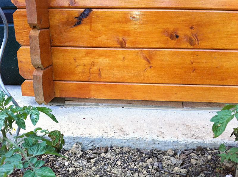 ment fixer un abri de jardin sur une dalle beton Abri