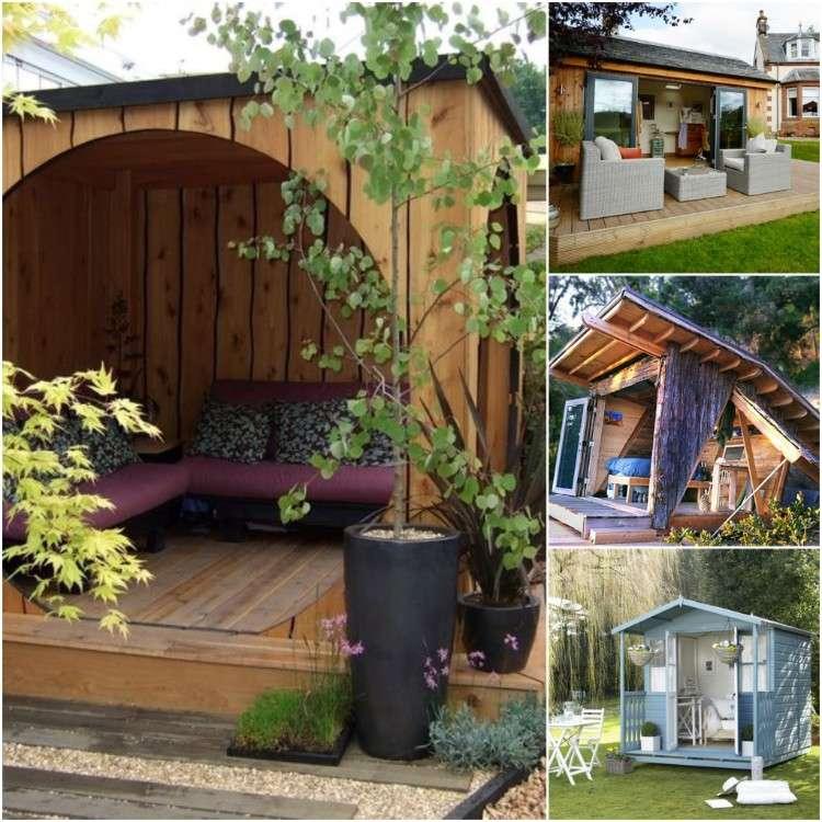 Abri de jardin bois en 50 idées personnalisées qui