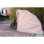 Abri Moto Bois Abri Moto S 360cm Beige Garage De Jardin Achat Vente