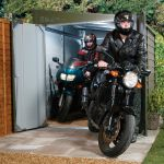 Abri Moto Bois Abri Pour Moto Mcg 960 2 80 X 1 94 X 2 10m Votre Abri
