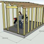 Abri Moto Bois Plan Cabane De Jardin – Maison Et Chaise