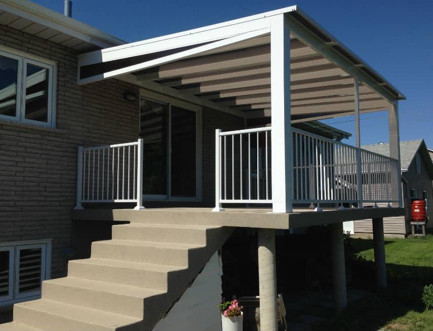 Auvent de balcon Groupe Somac