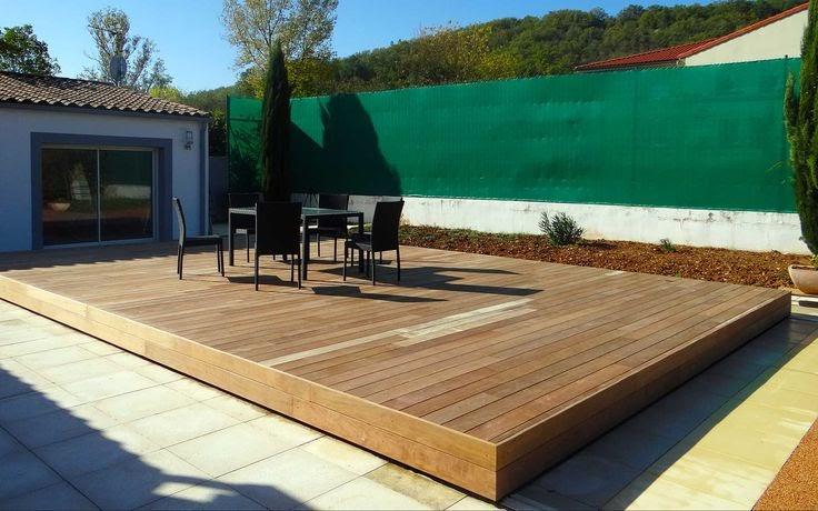 Brise Vue Bois abri piscine terrasse mobile Terrasse